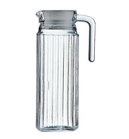 Jarra Água Sucos Refrescos Refrigerantes em Vidro Resistente 1200ML