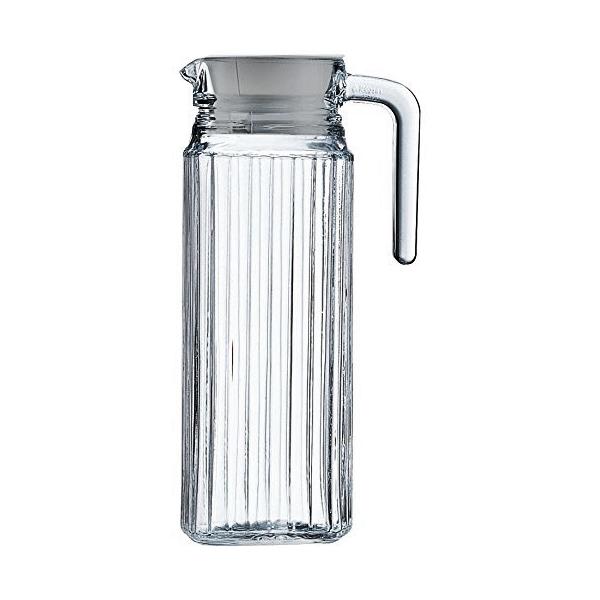 Jarra Água Sucos Refrescos Refrigerantes em Vidro Resistente 1800ML
