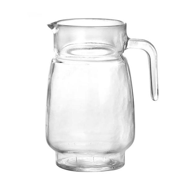 Jarra Água Sucos Refrescos Refrigerantes em Vidro Resistente Com Tampa 1300ML