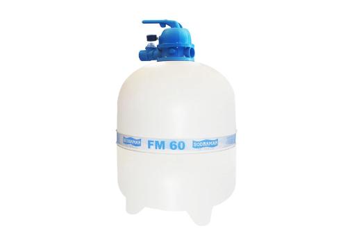 Kit 2 Motobomba BMC 100 Monof 1,0 cv com filtro FM 60 SODRAMAR
