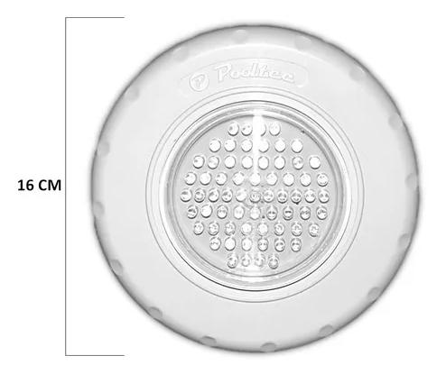 Kit Com 2 Refletores Pooltec Para Piscinas Led 65 em Abs RGB