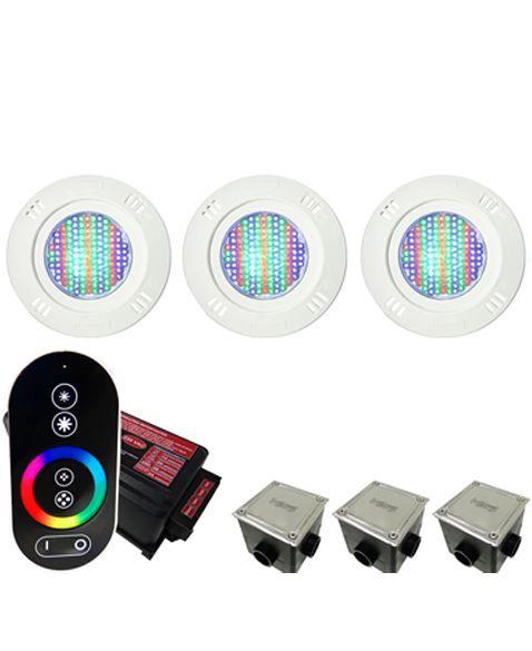 Kit Iluminação para Piscinas de até 24m²