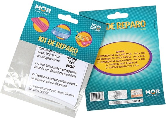Kit Reparo Piscinas e Infláveis - Mor