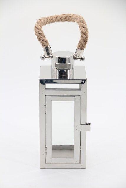 Lanterna em Metal Decorativa - 28 x 12 - Q1678
