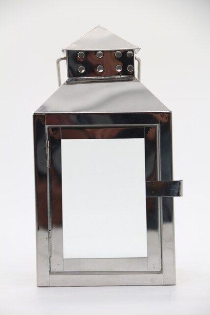 Lanterna em Metal Decorativa - 30 x 14 - Q1679
