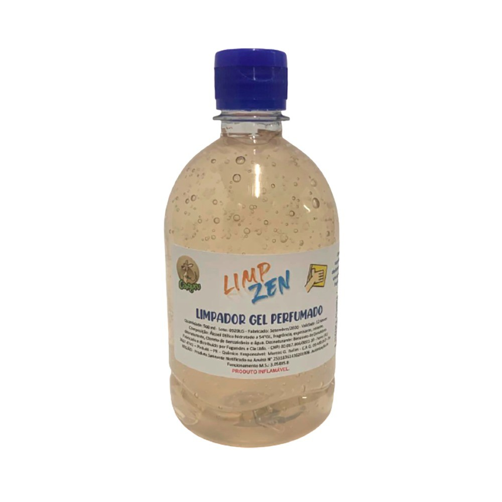 Limpador Gel Perfumado 500 ml - Limp Zen