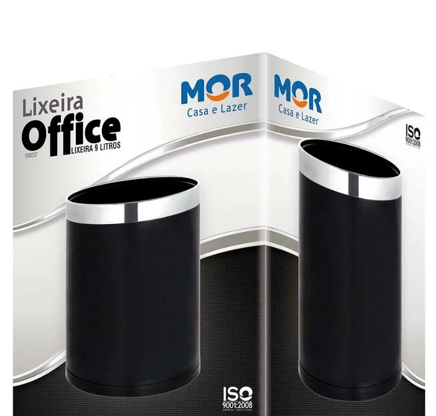 Lixeira Office 9 Litros - Mor