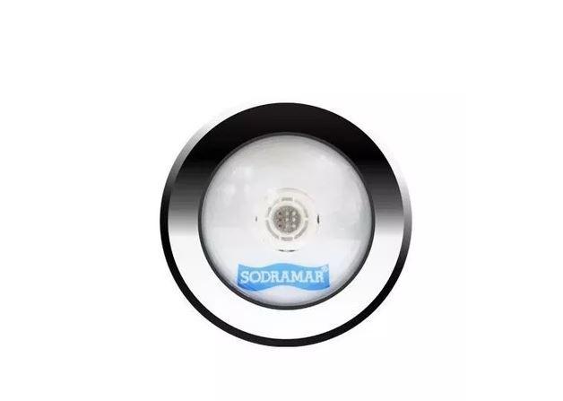 Luminaria LED COB aço inox 316 RGB 10W TUBO DE 20MM CABO 1,5