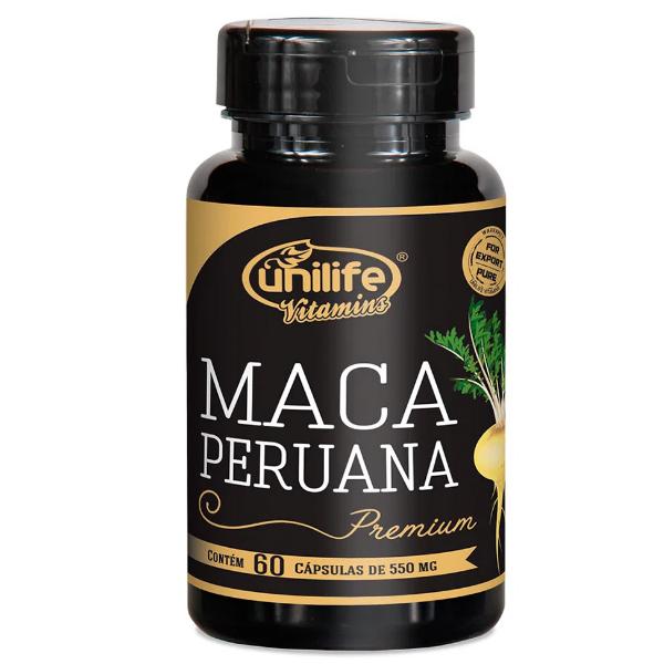 Maca Peruana Premium Frasco Com 120 Capsula