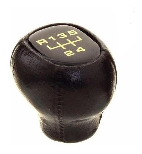 Manopla Bola de Câmbio Corsa de 94 a 98 Acrílico Dourado