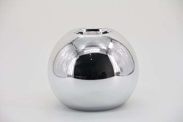 Decorativo em Vidro Prata 17 X 09 - G1342