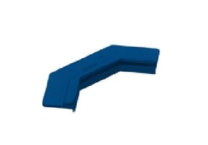 Perfil plástico chanfrado 7cm p/ Vinil - Sodramar