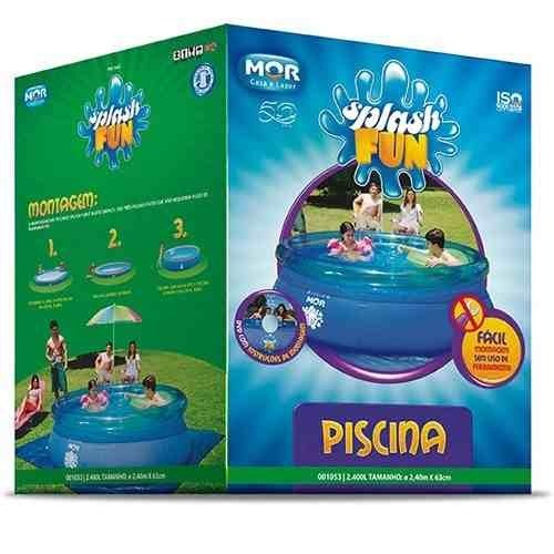 Piscina Splash Fun Ø2,40m x 63cm 2.400 Litros Mor