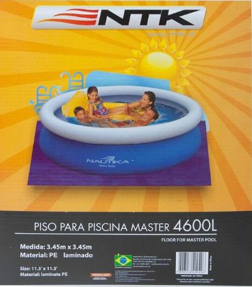 Piso Para Piscina Master P4600 - Nautika