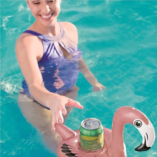 Porta copo inflável Bestway que flutua