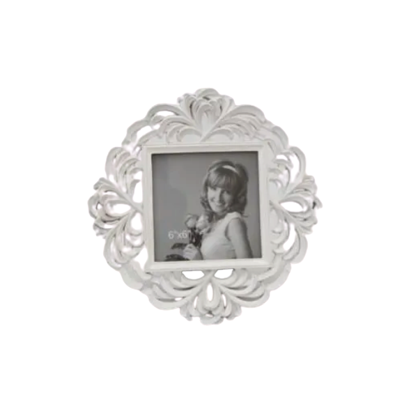 Porta Retrato Decorativo Em Poliresina - 3915 10x15