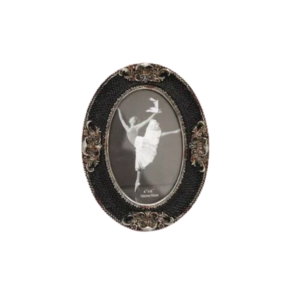 Porta Retrato Decorativo Em Poliresina - 3977