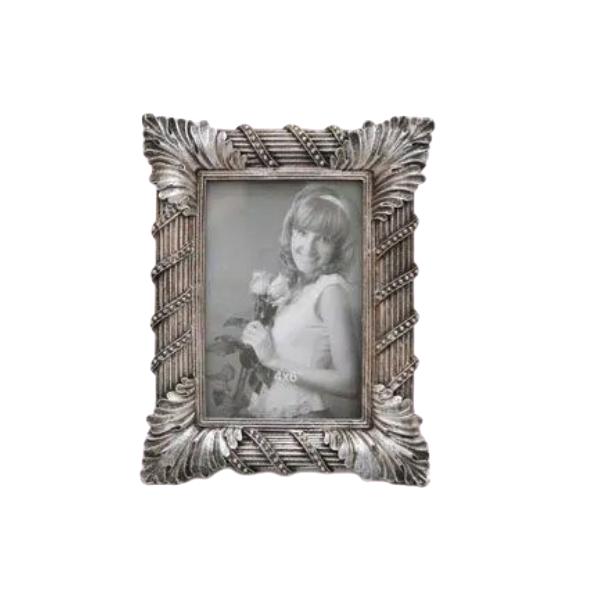 Porta Retrato Decorativo Em Poliresina - 3986