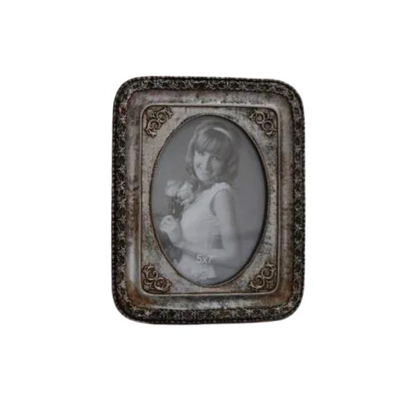 Porta Retrato Decorativo Em Poliresina - 3989