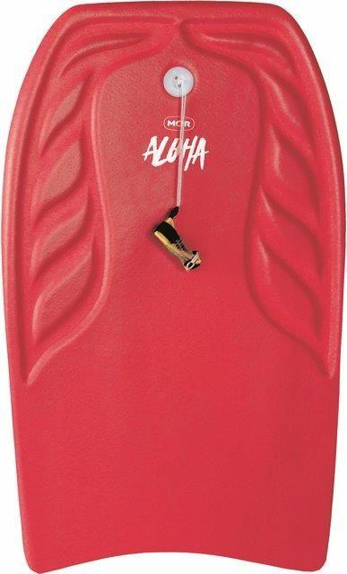 Prancha Bodyboard Aloha 90cm x 47cm - Vermelho
