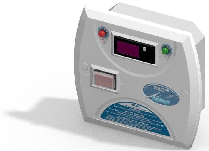 Quadro de Comando Digital Para Sauna Seca - Sodramar