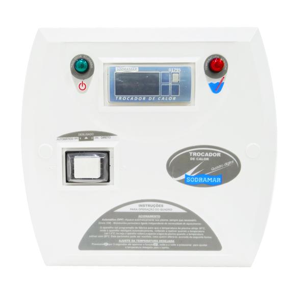 Quadro De Comando Digital Para Trocador De Calor