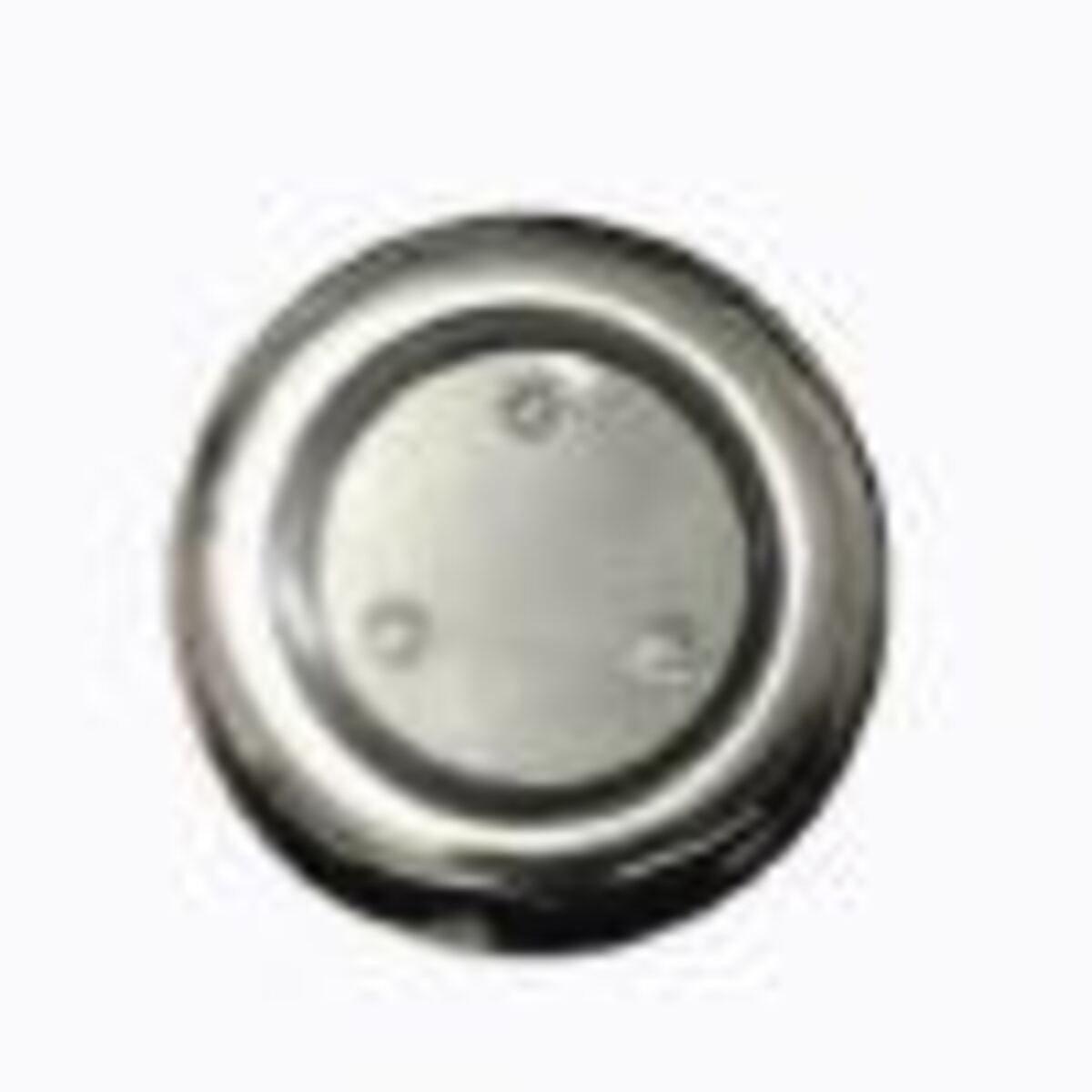 "Refletor Mini Steel Square Led 3 Branco Inox com Plug 1/2"" Pooltec"