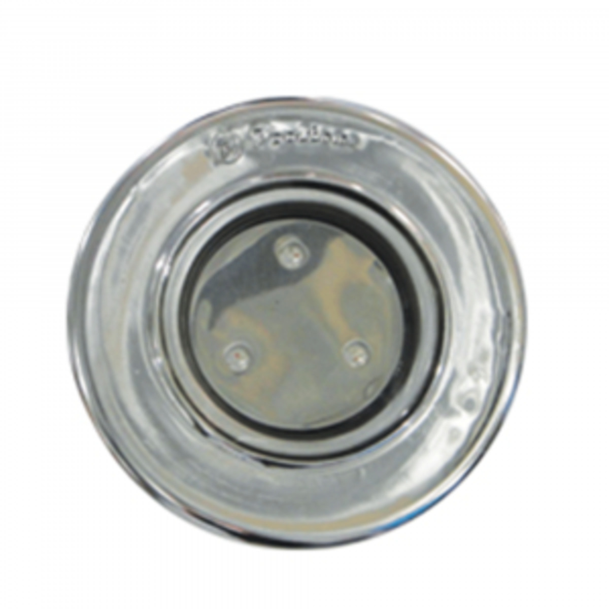 "Refletor RGB Steel Super Led 3 Inox com Plug 1/2"""