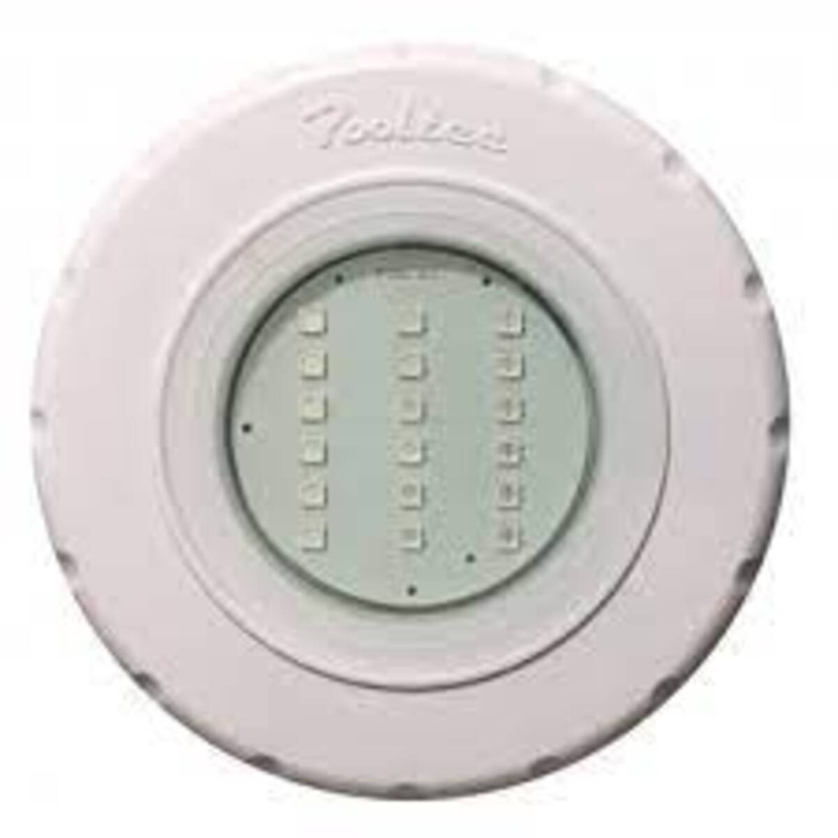 """Refletor Tecno Led SMD 18 em ABS Luz Branco com Plug 1/2"""" Pooltec"""