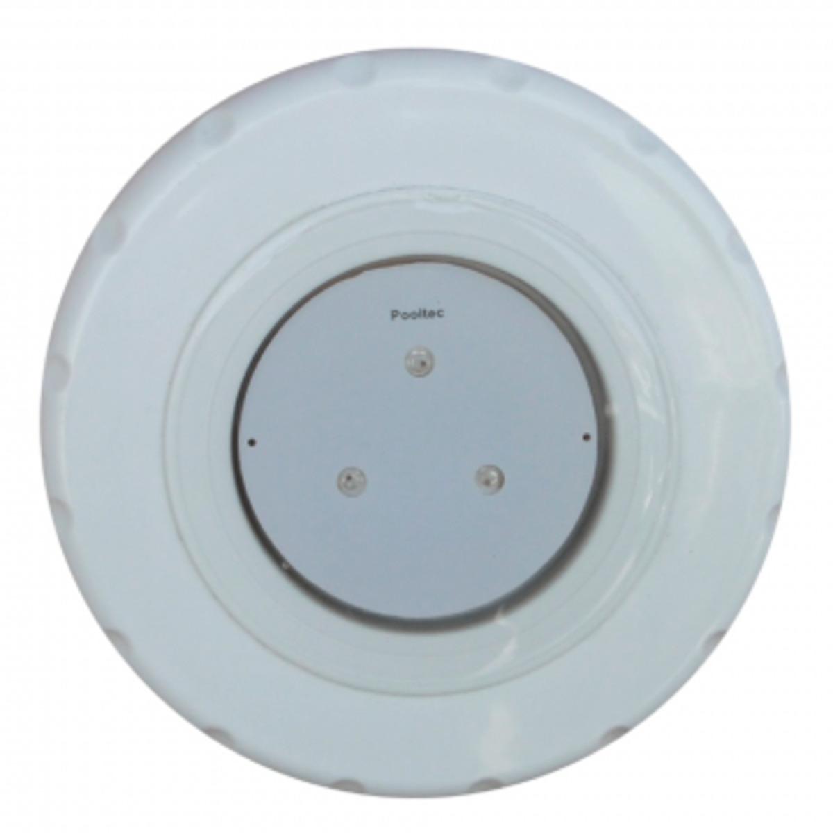 """Refletor Tecno Super Led 3 Branco em ABS com Plug 1/2"""" Pooltec"""