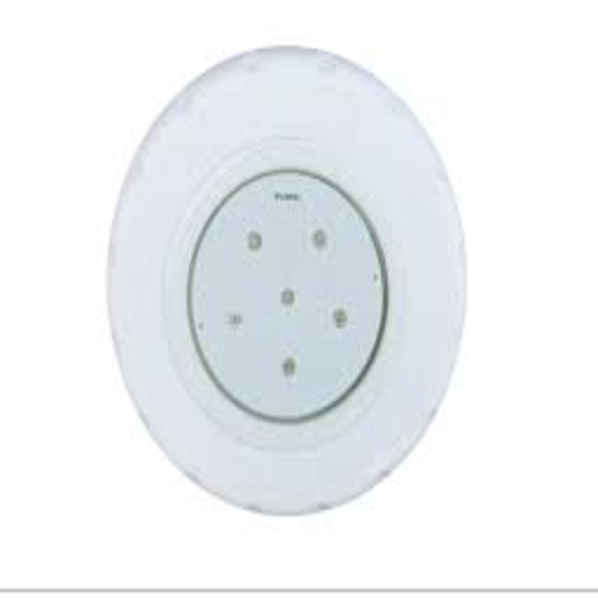 """Refletor Tecno Super Led 6 Branco em ABS com Plug 1/2"""" Pooltec"""
