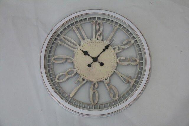 Relógio em Metal de Parede Decorativo a Pilha F618
