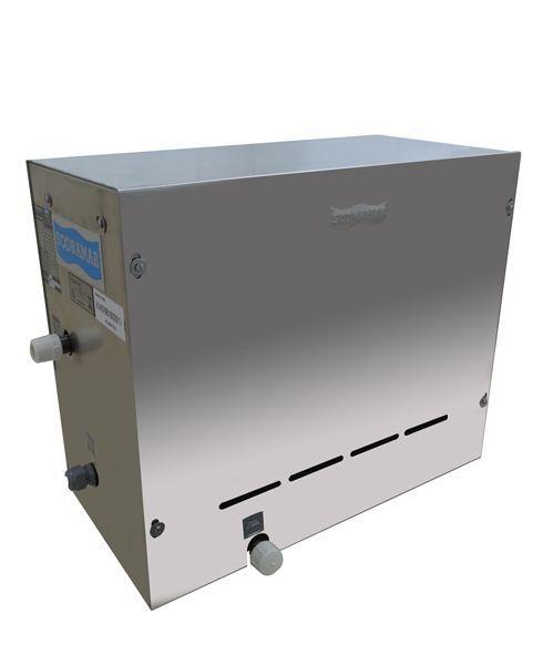 Sauna Steam Inox 6 kw + Quadro de Comando Digital