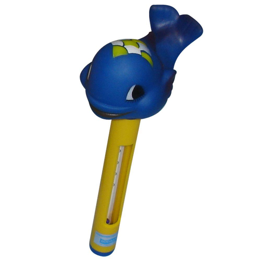 Termômetro Flutuante para Piscina Baleia - Sodramar