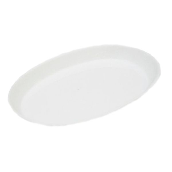 Travessa De Porcelana Schmidt Branco 36 X 24 - I32