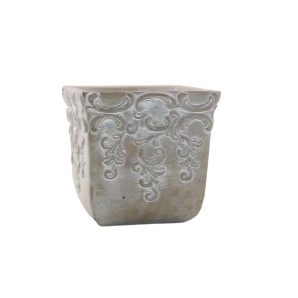 Vaso Cachepot de Cimento GX32034-2