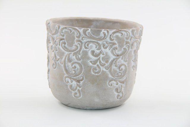 Vaso Cachepot de Cimento GX32036-3