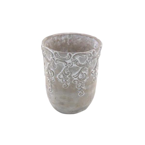 Vaso Cachepot de Cimento GX32043-1