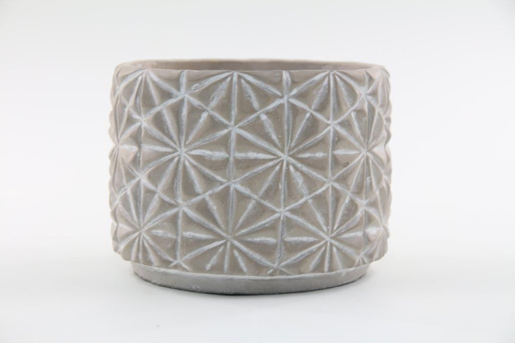 Vaso Cachepot de Cimento GX34035-2