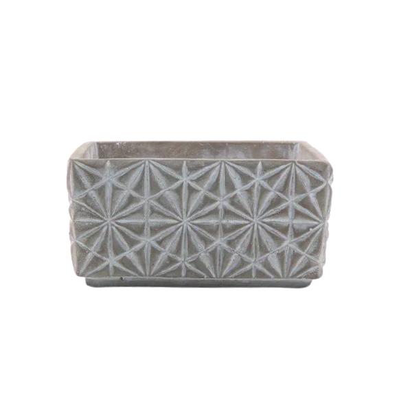 Vaso Cachepot de Cimento GX34036-1