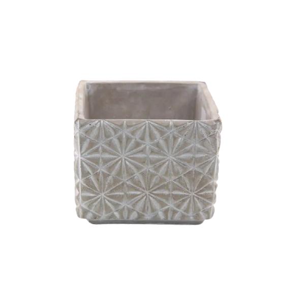 Vaso Cachepot de Cimento GX34037-1