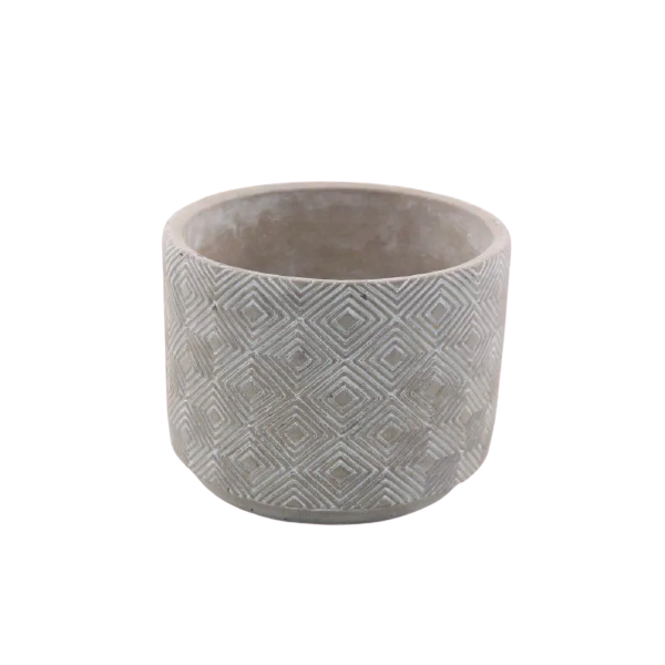 Vaso Cachepot de Cimento GX35031-1