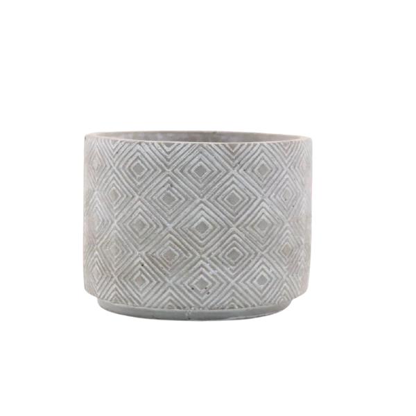 Vaso Cachepot de Cimento GX35031-2