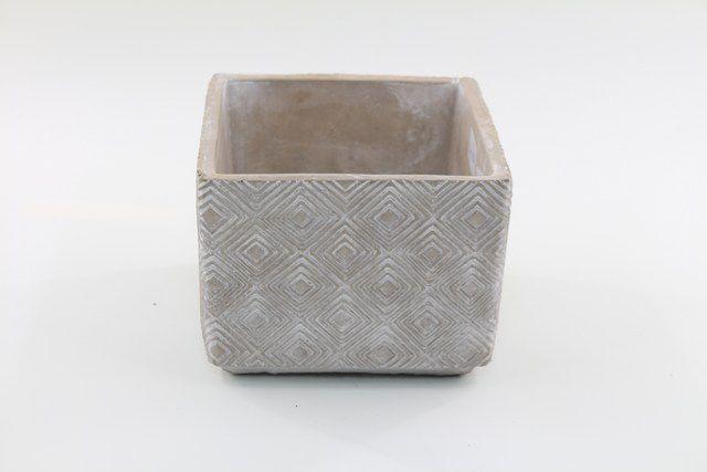 Vaso Cachepot de Cimento GX35032-1