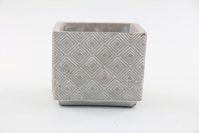 Vaso Cachepot de Cimento GX35032-3
