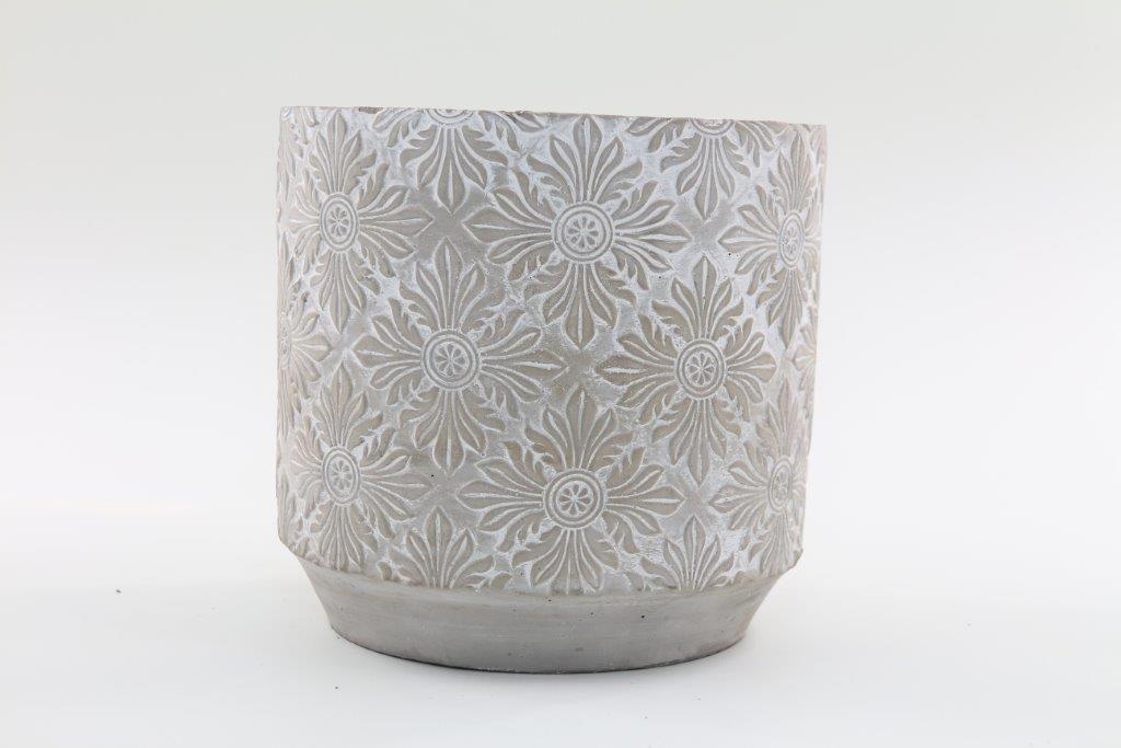Vaso Cachepot de Cimento GX36020-1
