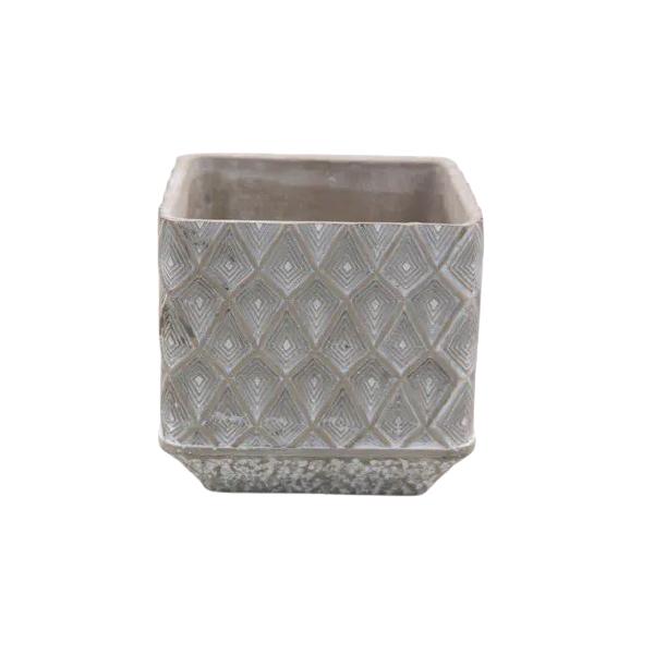 Vaso Cachepot de Cimento GX37015-1W