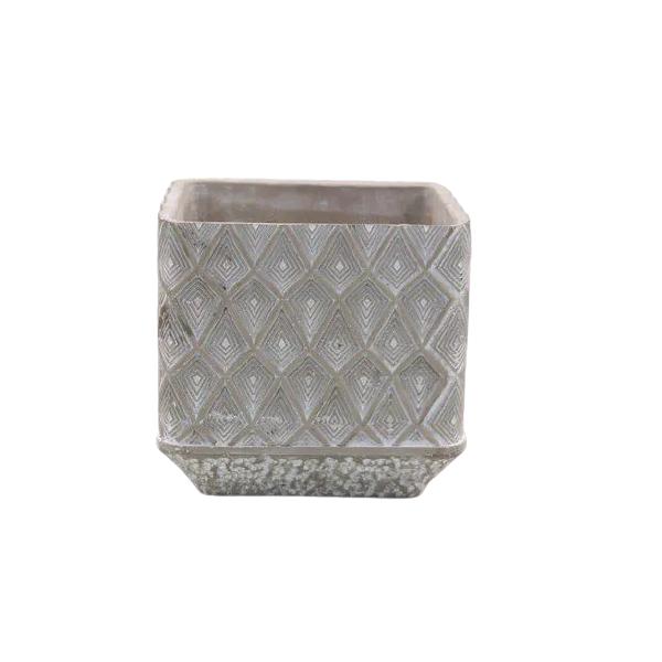 Vaso Cachepot de Cimento GX37015-2W