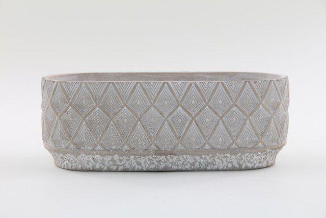 Vaso Cachepot de Cimento GX37016-1W