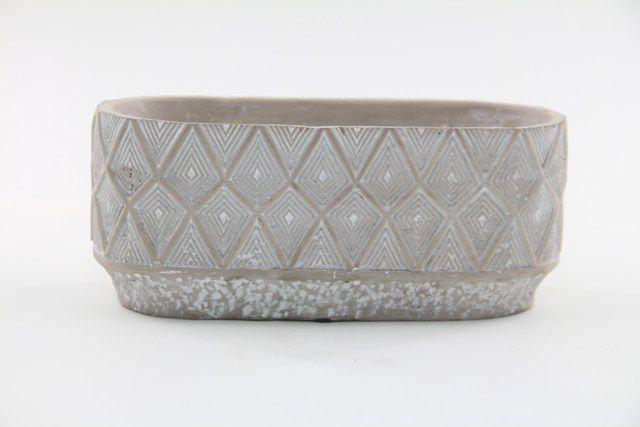 Vaso Cachepot de Cimento GX37016-2W